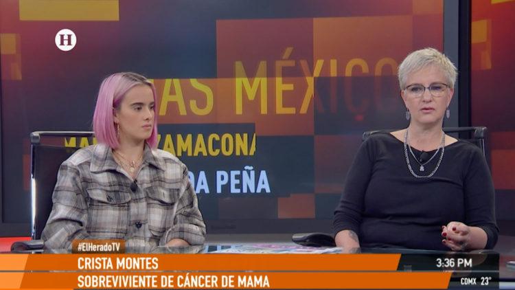 Gala Montes Crista Montes cancer mama Fucam tratamientos AMLO