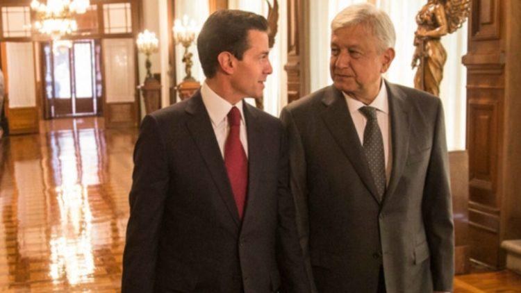 AMLO y Peña Nieto