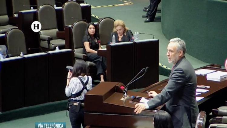 Alfonso Ramirez Cuellar Morena presidencia interina El Heraldo TV