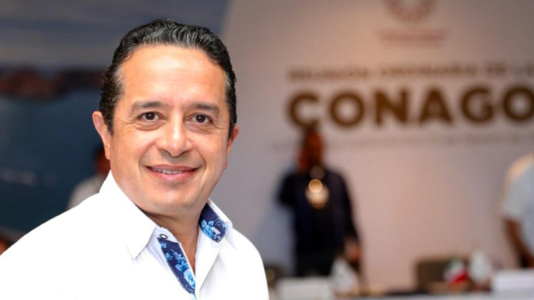 gobernador Quintana Roo Carlos Joaquin Gonzalez coronavirus crucero Meraviglia Cozumel