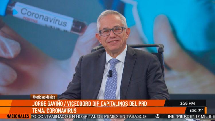 Jorge Gavino diputado PRD coronavirus Mexico sector salud