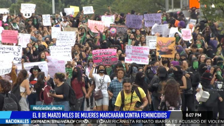 marcha feminista medidas seguridad cdmx proteccion El Heraldo TV