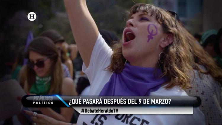 Paro nacional de mujeres feministas feminicidios El Heraldo TV