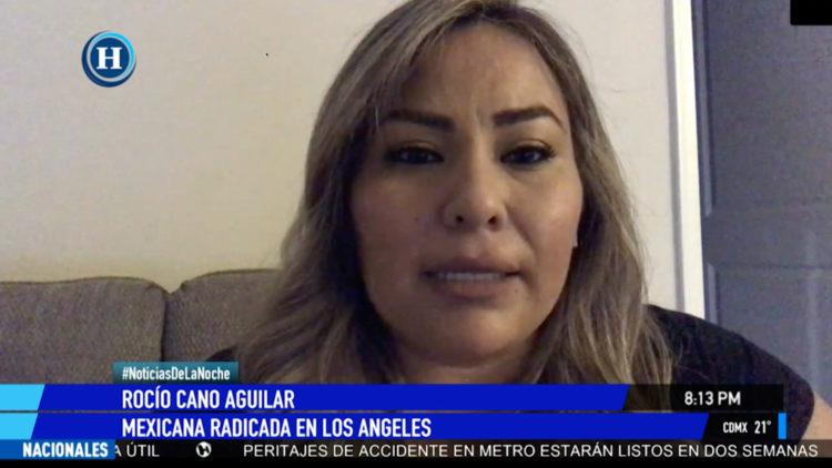 Los Angeles compras panico coronavirus Estados Unidos peleasa Rocio Cano Aguilar