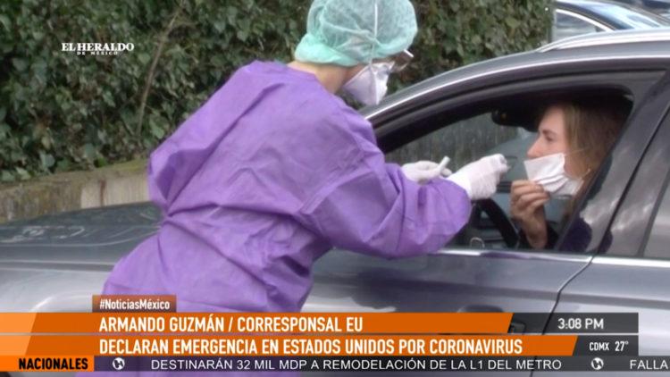 Armando Guzman compras panico EU emergencia nacional coronavirus