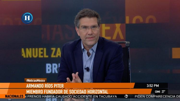 Armando Rios Piter feminicidios AMLO Pemex caida bolsa coronavirus