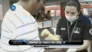 Compras de panico por coronavirus