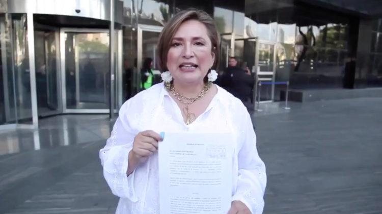 senadora PAN Xochitl Galvez denuncia FGR Pemex medicamento contaminado
