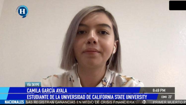 estudiante California Universidad cuarentena Estados Unidos coronavirus