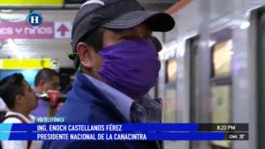 Canacintra pide apoyos para que empresas puedan hacer frente a emergencia sanitaria