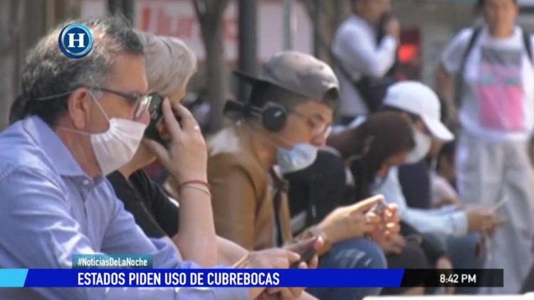 cubrebocas Estados uso obligatorio pandemia coronavirus
