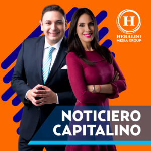 Noticiero capitalino, Brenda Peña y Manuel Zamacona, Heraldo Media Group