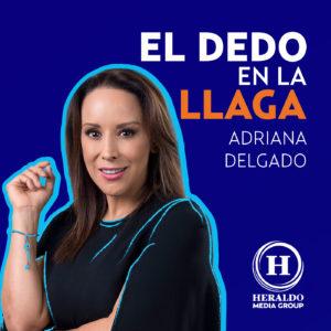 Adriana Delgado El dedo en la llaga. Heraldo media Group