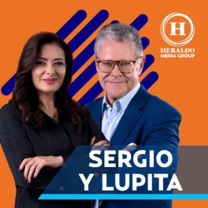 Sergio Sarmiento y Lupita Juarez Heraldo Media Group